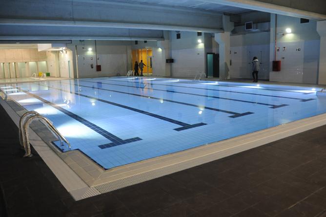 El nuevo complejo deportivo body factory abrir sus for Piscina el soto mostoles
